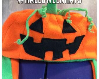 Jack-O-Lantern Pumpkin Hat