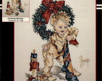 Stoney Creek: Christmas Morning - Dec 24, 1938 (OOP) - a Saturday Evening Post Cross Stitch Pattern