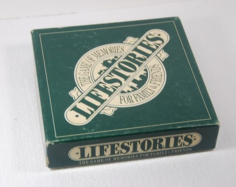 GM0058 Lifestories Game of Memories for Family & Friends 1989 Edition