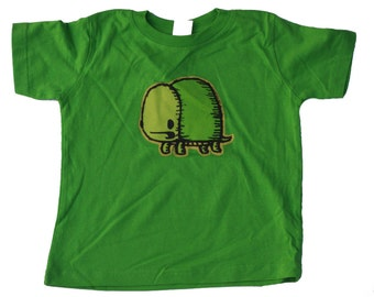 turtle friends toddler shirt, turtle t-shirt, cute kid's t-shirt, kid's gift, cute turtle, green shirt