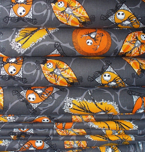Nightmare before Christmas / Yard / Yardage available / Jack ...