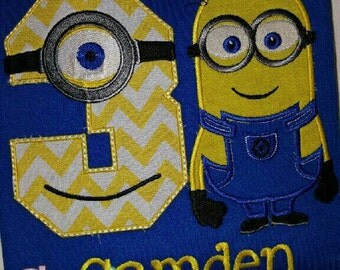 Minion Birthday Shirt