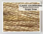 GINGER SNAP  : Classic Colorworks hand-dyed embroidery floss cross stitch thread at thecottageneedle.com
