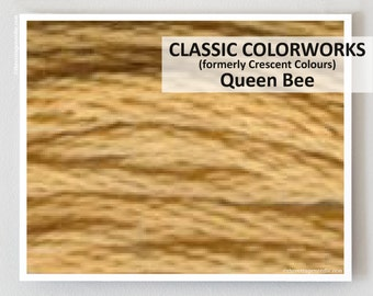 QUEEN BEE  : Classic Colorworks hand-dyed embroidery floss cross stitch thread at thecottageneedle.com