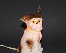 Vintage Nasco Dog Night Light