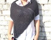 Knitting Shrug Pattern / Knitting Shrug / Knitting Poncho Pattern / Knitting Pattern / Pattern instant Download