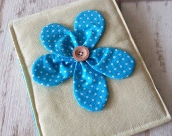 Kindle Paperwhite cover blue flower