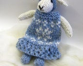 Knit Your Own Snow Bunny Knitting Kit