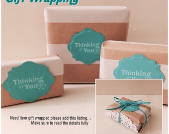 Gift Wrapping, Giving, Christmas Present, Birthday Gift, Add On