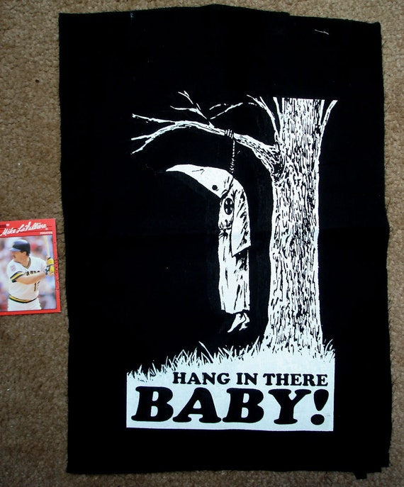 Hang in there baby anti kkk anti racism backpatch meaning its for What is the significance of pi s unusual name