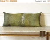 ON SALE Khaki lumbar pillow case. Linen long pillow. Bring nature in, ... On the stump /  FRAGMENTS. Natural decor