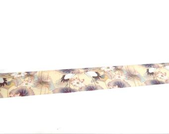 FREE SHIPPING - Crane and Lotus Washi Tape