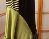 Yikes and Stripes! Tunic size medium to large