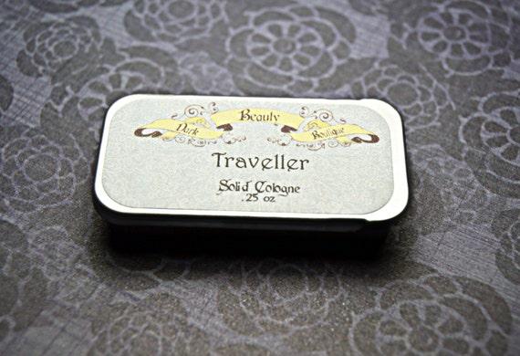Traveller - Solid Cologne - Cologne Crème Tin- Oak Moss, Pipe Tobacco, Rose
