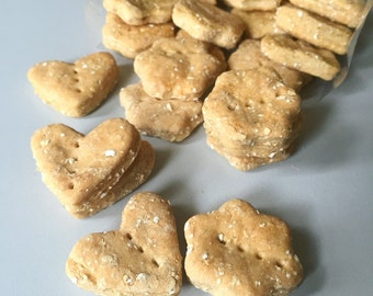 Calming Effects - Vanilla Lavender Dog Treats - chamomile - Calming Treats for Dogs - sleep aid