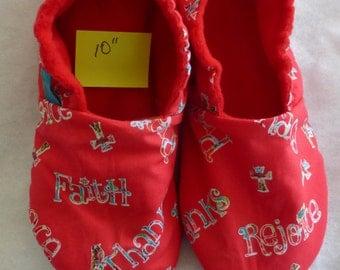 Faith KozyFoots slippers, size Women's 8-1/2