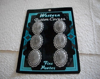 Western Button Covers