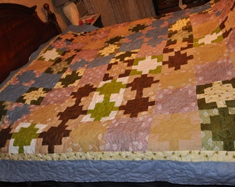 jungle fever King size quilt