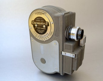 Awesome Vintage Cinemaster II 8MM Movie Camera- We have a wonderful selection of vintage cameras