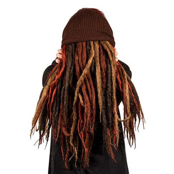 how to make thin dreads thicker