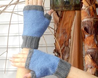 Warm Fingerless Mitts