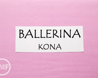 One Yard Ballerina Kona Cotton Solid Fabric from Robert Kaufman, K001-485