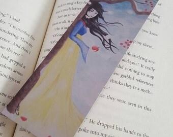 Snow White Bookmark, Fairytale Princess Bookmark, 2x6
