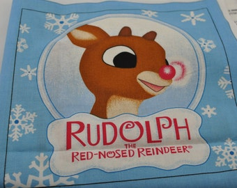 Fabric Book - Rudolph the Red Nosed Reindeer - Panels - Holiday Story - Christmas