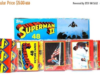 ON SALE Superman 2 Picture Card Rack Pack 48 Cards