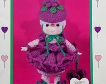 20%OFF Dumplin Designs RASPBERRY FLUFF From Lollipop Lane - Crochet Doll Pattern