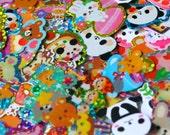 20 Kawaii Japanese Sticker Flakes