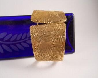 Metal Bracelet Cuff with Closure Clasp
