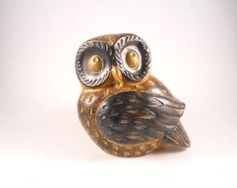 Big Eyed Owl Brown Gold light Brown Price Japan Wings