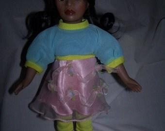 FREE SHIPPING - Dan Dee African American doll