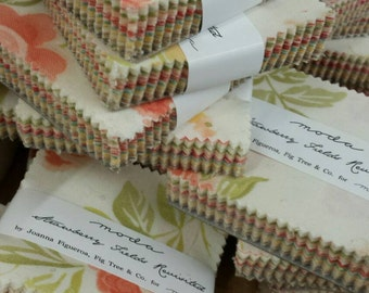 Strawberry Fields Revisited mini charm packs by Fig Tree for  moda fabrics