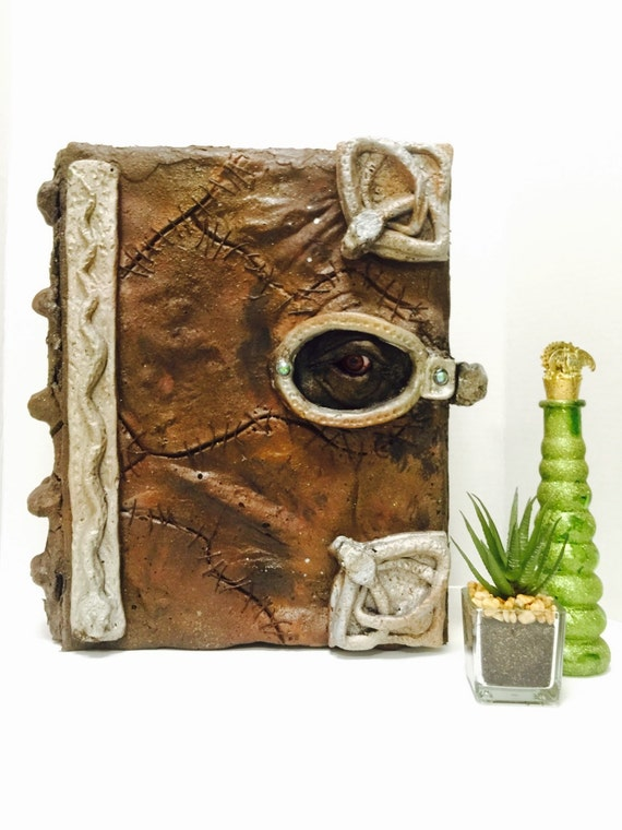 "Hocus Pocus Spellbook Book Replica Box (Halloween,handmade prop) 13"" by 10"""