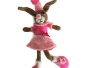 Crocheted bunny rabbit - Bunny Amigurumi - Ready To Ship