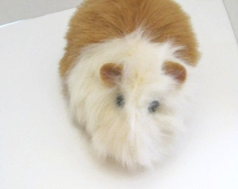 Guinea Pig Plush Creme with Honey Color CUSTOM ORDER FOR  Taylor