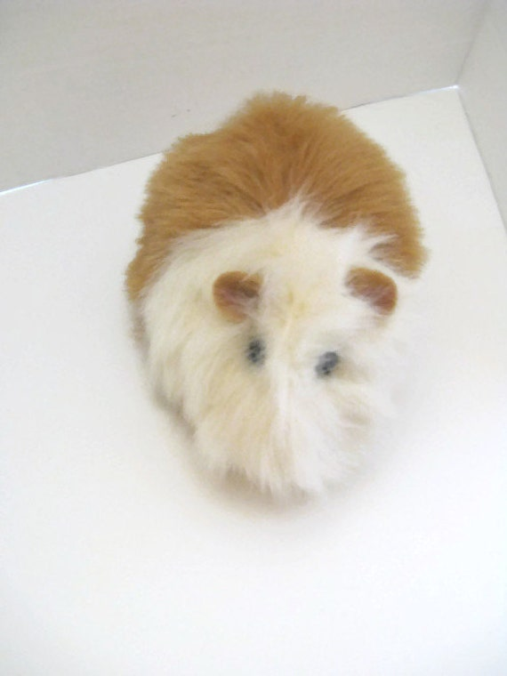 Guinea Pig Plush Creme with Honey Color