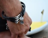 Men's Bracelet SALTI Nautical Bracelet '3rd Wave' FREE Worldwide Shipping Unisex (2 bracelets)