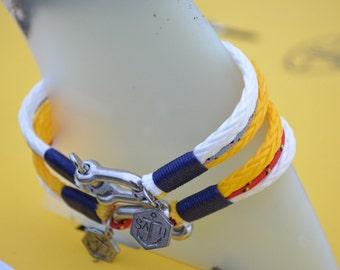Men's Bracelet SALTI Nautical Bracelet '3rd Wave' FREE Worldwide Shipping Unisex (2 bracelets)