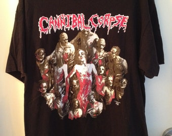 RARE Cannibal Corpse Tour shirt from 1994