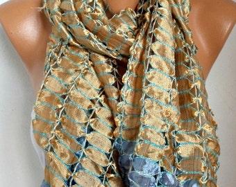 Silk Scarf,Wedding Shawl, Oversized Scarf,Cowl Scarf, Shawl, Bridal Scarf,Bridesmaid Gift, Gift Ideas For Her Women Fashion Accessories