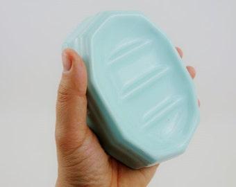 Vintage Porcelain Soap Dish or Business Cards Display