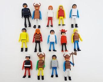 14 Vintage Play-Big Figurines
