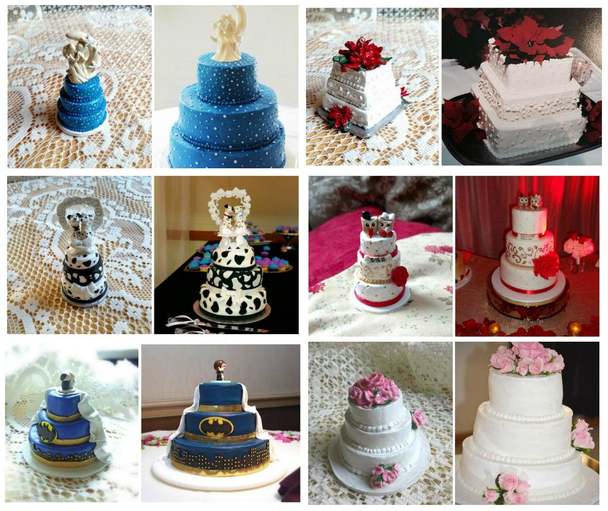 Custom Replica Mini Wedding Cake Miniature By Foreverfigurines