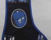 TARDIS Personalized Embroidered Stocking