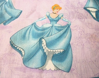 Cinderella Fabric At The Ball Lavender Background BTFQ By Fat Quarter New