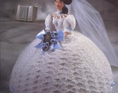 "The Bridal Belle Collection - Miss September - Annie's Attic Crochet Pattern Leaflet for 11 1/2"" Fashion Doll New Condition"
