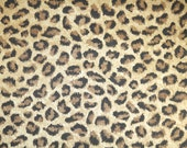 Vintage Wallpaper by the Yard 80s Retro Wallpaper - 1980s Leopard Print on Metallic Gold